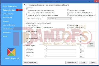 Remove arrow on desktop icon with UWT