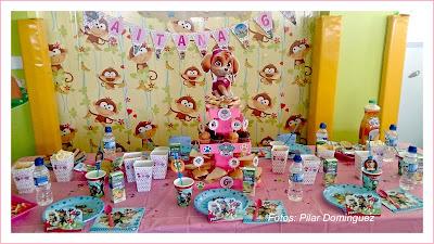 Kit cumpleaños patrulla canina niña-decoración