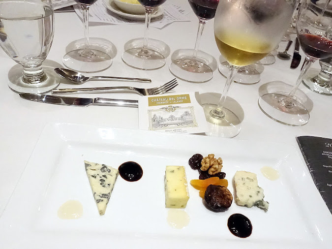 Château d'Armajan des Ormes Sauternes with Cheese Plate, The National Club
