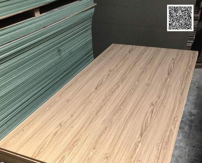 Ván mdf phủ melamine vân gỗ