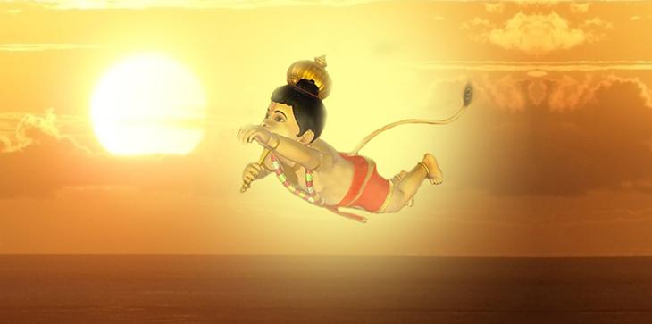 mitoloji,A, Hint mitolojisi, Hanuman,Maymun çocuk hanuman,Hanuman efsanesi,Güneşi yakalamaya çalışan çocuk,Anjana miti,Hanuman miti,Rüzgar tanrı Vayu, Hint Tanrıları, Güneş tanrı,Maymun çocuk