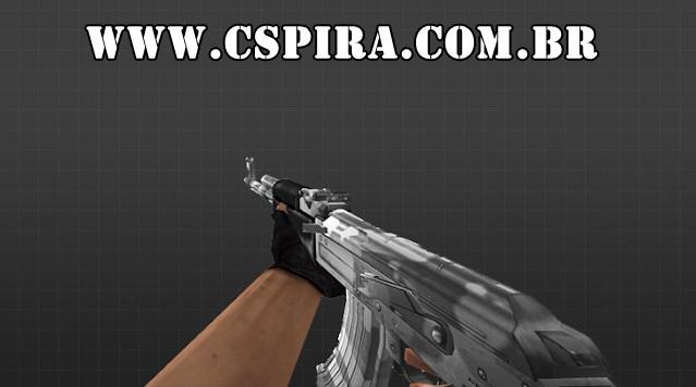 SKIN AK47 - Arctic para CS 1.6