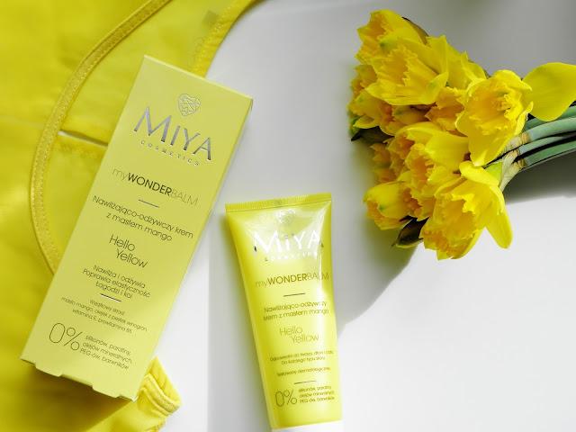 Energetyczny krem z masłem mango | Hello Yellow Miya Cosmetics