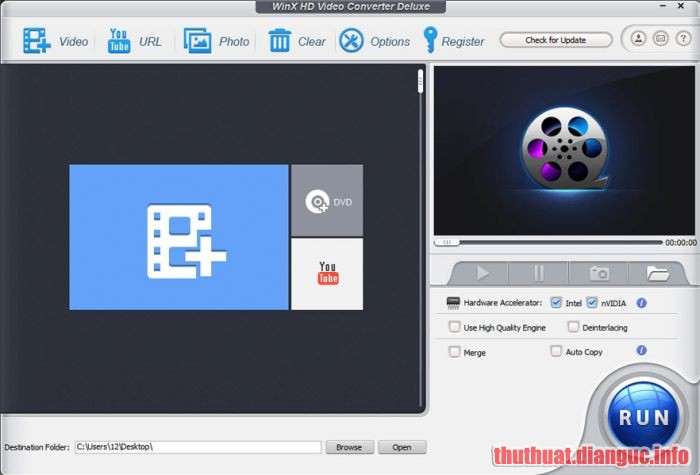 Download WinX HD Video Converter Deluxe 5.15.3.321 Full Crack