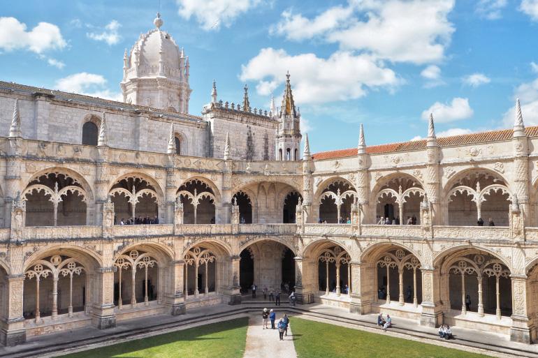 Visite du monastère des Hiéronymites dans la ville de Lisbonne