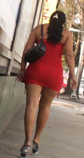 Bonita mexicana vestido entallado