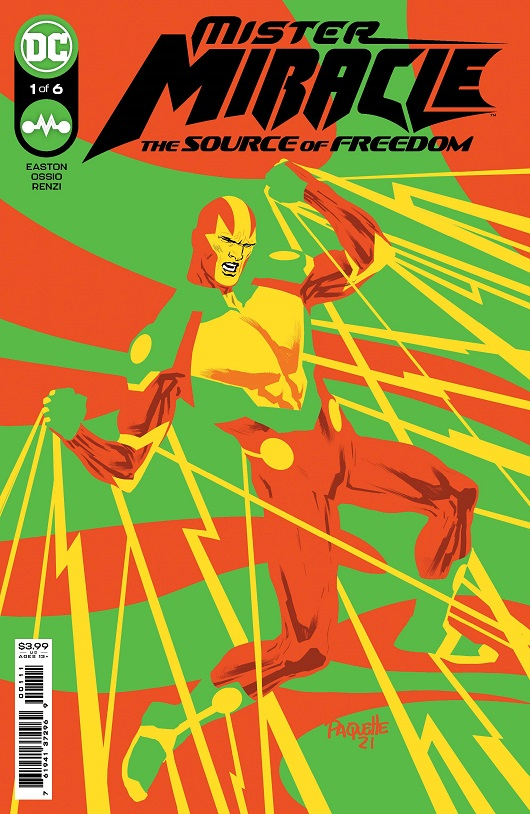Cover of Mister Miracle #1