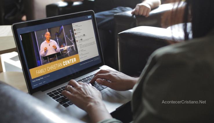 Evento evangélistico vía online