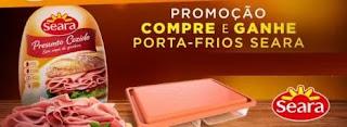 Promoção Seara Ganhe Porta Frios Duplo Grátis na Compra Produto Participante