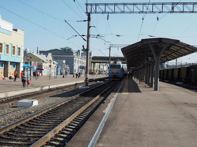Транссибирская магистраль, станция Улан-Удэ