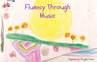 Fluency Through Music:  Using music to help your students build fluency when reading.