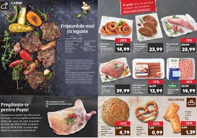 brosura kaufland 8 - 14 aprilie 2020 carne si mezeluri