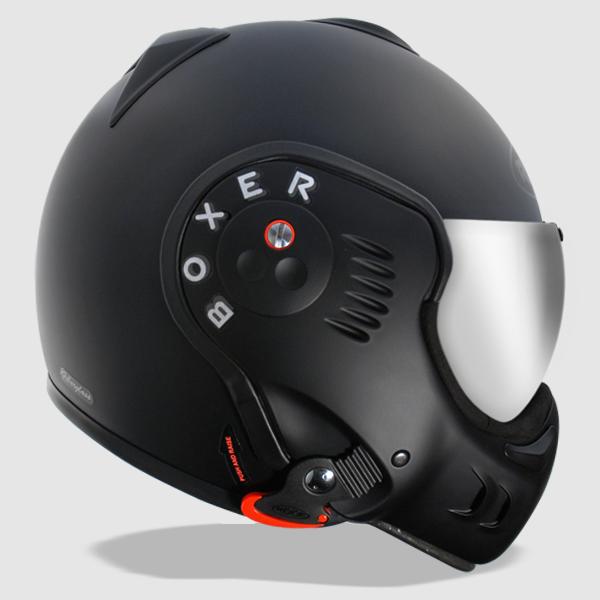 Roof Boxer V8 Black Shadow Helmet Way2speed