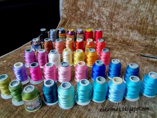 cenk, reyyan, yazma, tülbent, eşarp, başörtü, yemeni, yakut, ip, iplik, polyester, pamuklu, yabalı, çizmeli, leylak, iğne oyası, elişi, handmade, renk, colour,
