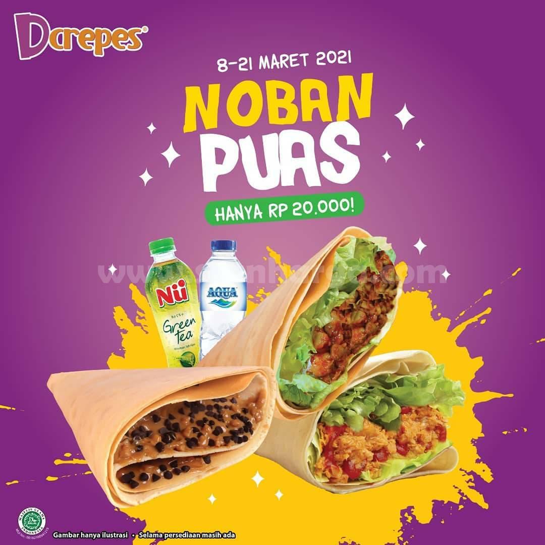 Dcrepes Promo Paket NOBAN PUAS! Harga hanya Rp 20.000