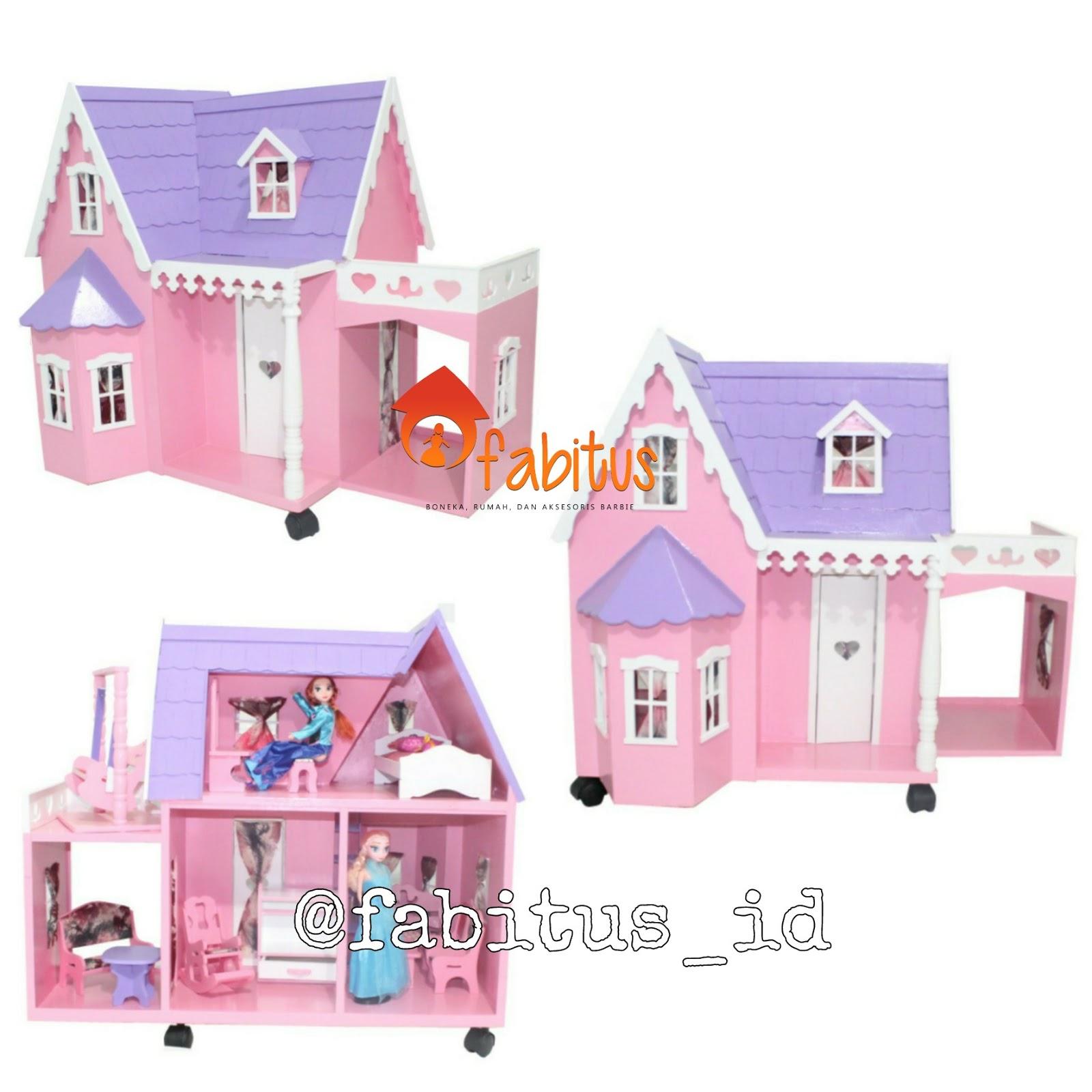 Rumah Boneka Barbie Villa Garasi 15e5df6cba