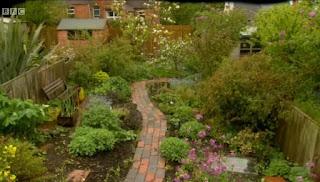 Alys garden, spring crops