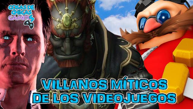 Villanos míticos de videojuegos