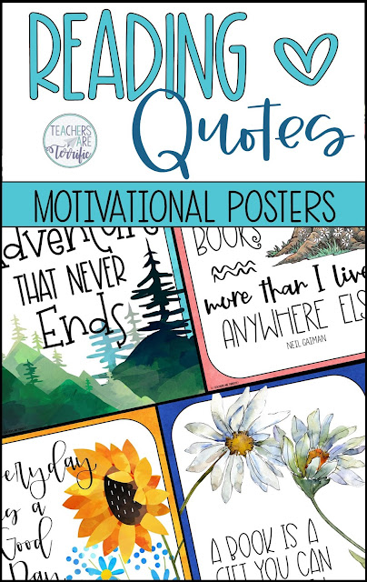 If you are a book lover (like me) then you are going to love this fun and colorful poster set. This set celebrates reading and books with whimsical student clip art and coordinating backgrounds. This is a set of 20 posters.