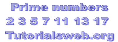 C Prime number program