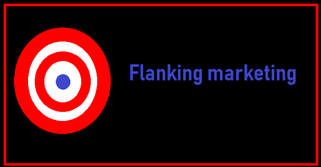 Flanking marketing strategies to win the competition