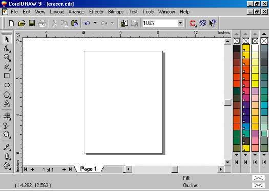 Sejarah CorelDRAW - CorelDRAW Versi 9.0 (1999)