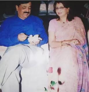 Akanksha Puri Father and Mother