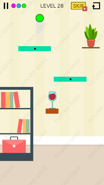 Spill It! Level 28 Walkthrough, Solution, Cheats for Android, iPhone, iPad and iPod