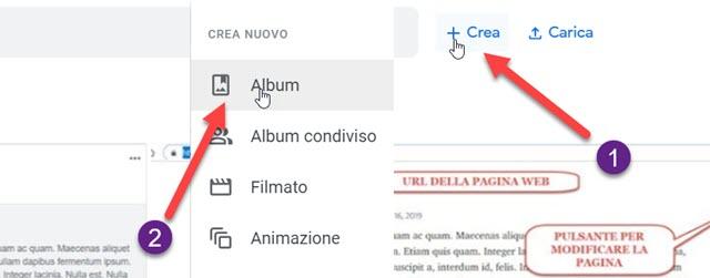 creare-album-google-foto