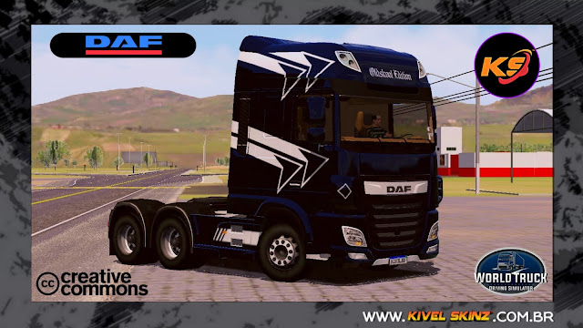 DAF XF - BLACK EDITION