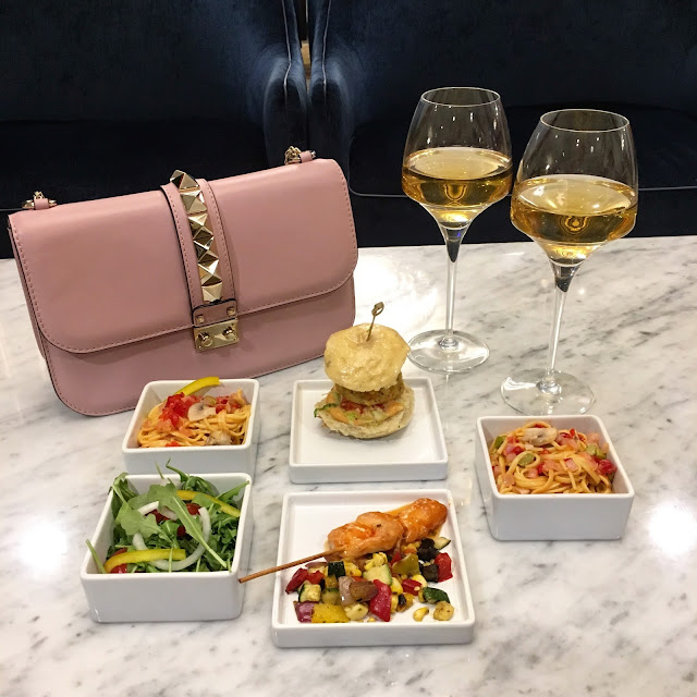 valentino bag washington marriott georgetown m lounge bar drinks food dinner