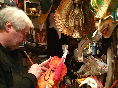Venice Carnival 2017 and A Brief History of Mask-Making