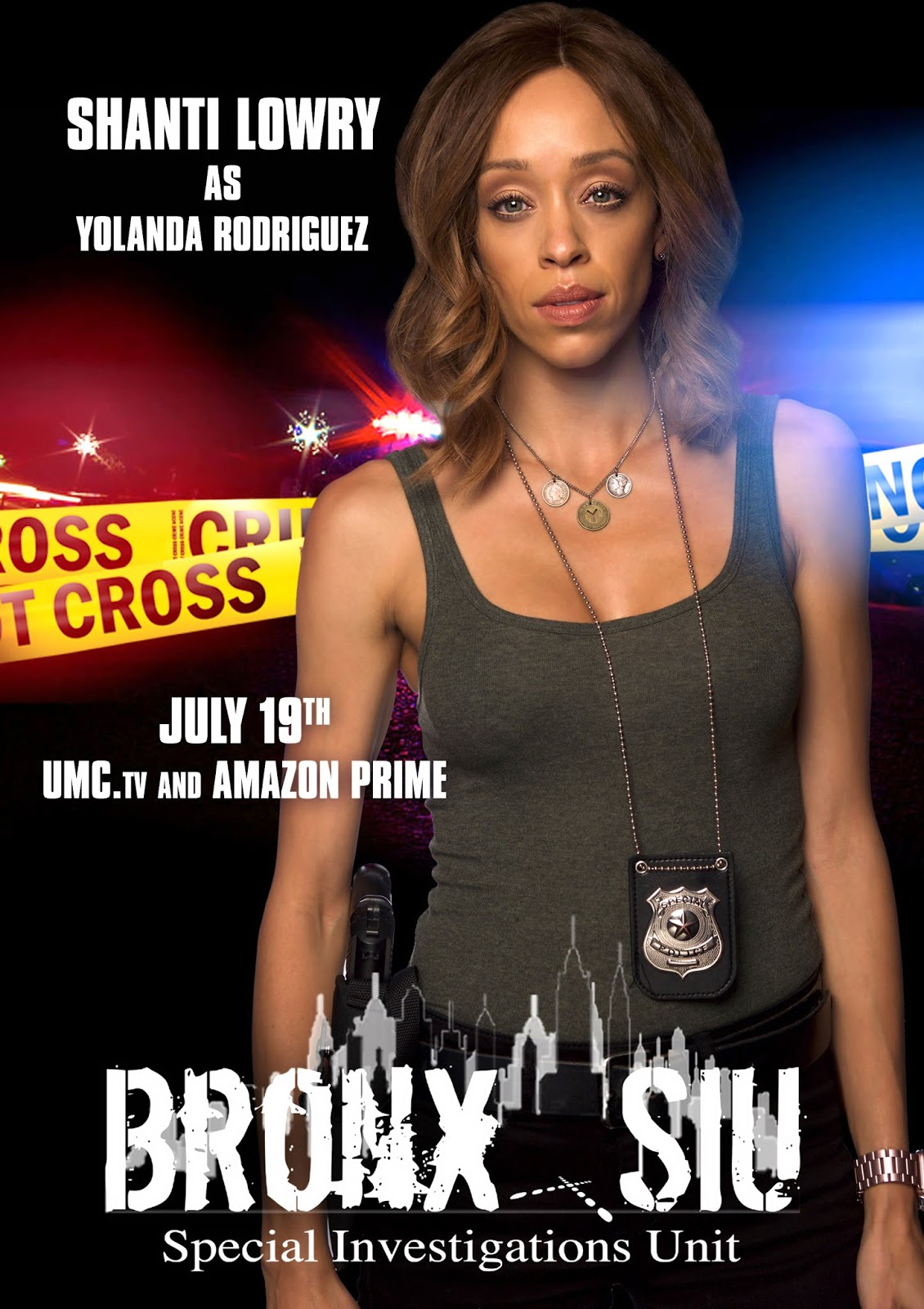 Interviews: Actress Shanti Lowry Talks About The New Police Procedural Series Bronx SIU