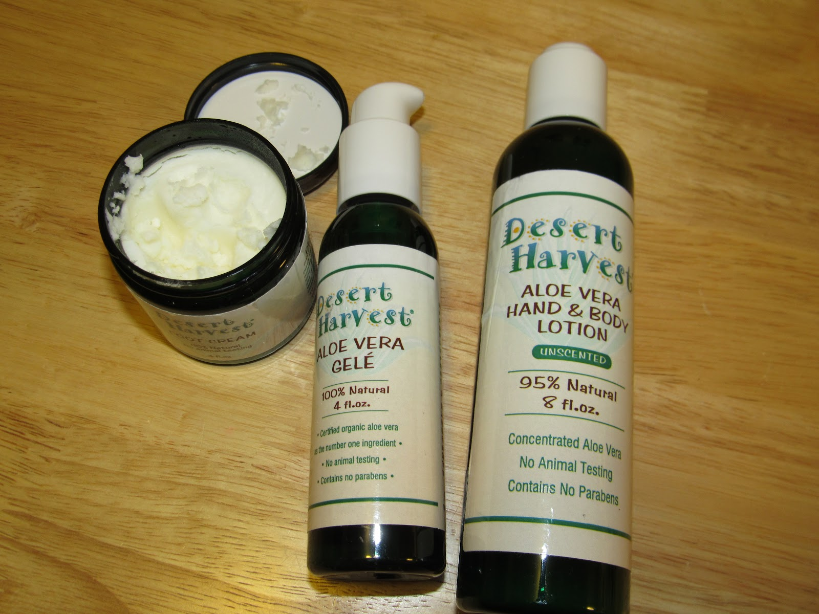 Mail4rosey Desert Harvest Skin Care Products