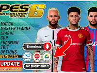 PES 06 PPSSPP New Background PES 2022 Update Grass HD & New Update Transfer And Kits 2021/22