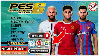 Download PES 06 PPSSPP New Background PES 2022 Update Grass HD & New Update Transfer And Kits 2021/22