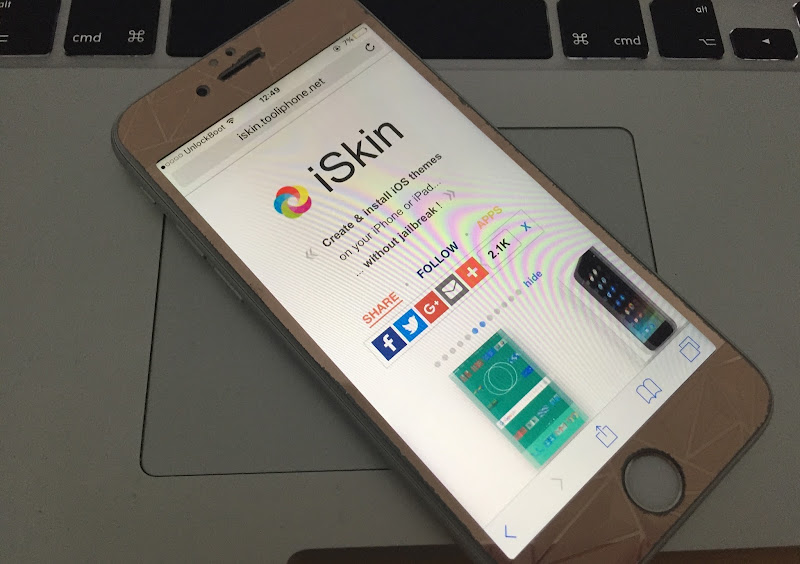 iskin themes for iPhone