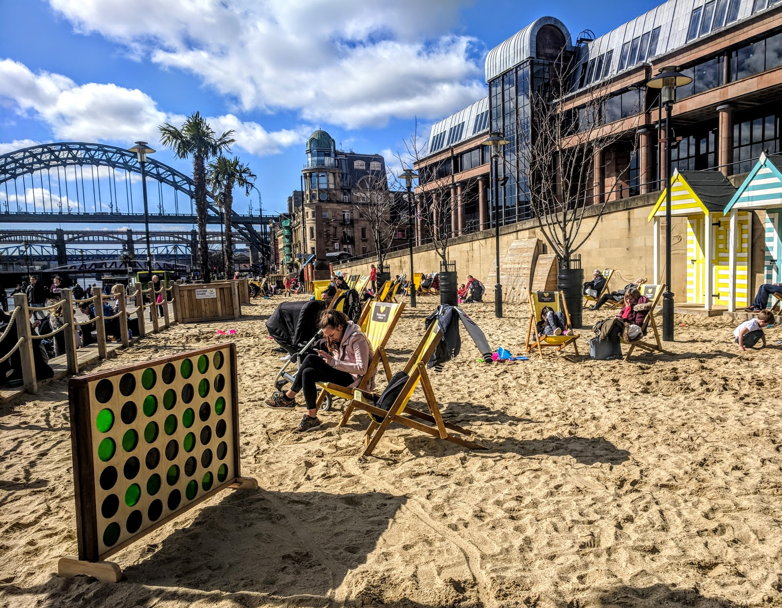 Visiting Newcastle's Quayside Seaside & The Little Fishy with Kids
