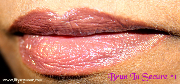 YSL Brun In Secure #1 Lipstick