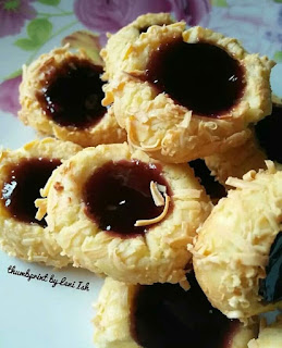 Ide Resep Kue Kering Thumbprint Cookies Blueberry