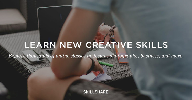 Skillshare 2 Months of Unlimited Premium Courses only at $0.99!