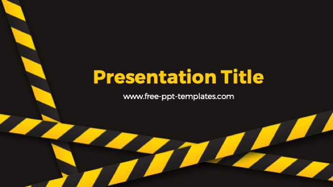 Under Construction Ppt Template
