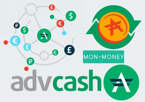 Логотип advanced cash