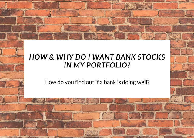 Tips and tricks to finding out how a bank is managing well enough for a investor to take notice.