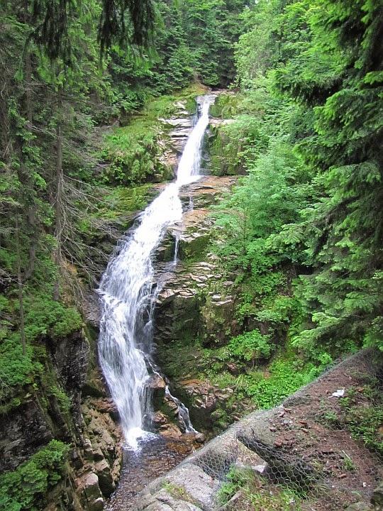 Wodospad Kamieńczyka.