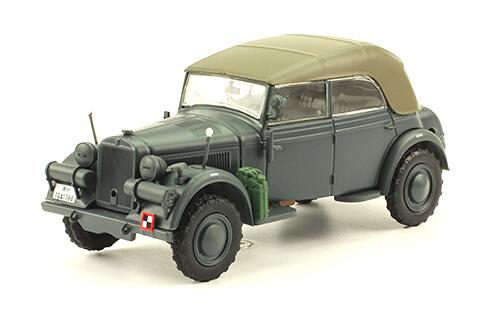 KFZ. 21 TYP 901 CABRIO 1:43, voitures militaires de la seconde guerre mondiale