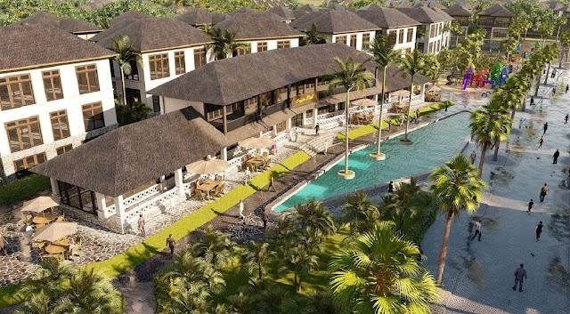 Dự án Sunshine Heritage Resort Financial Landmark Phúc Thọ Hà Nội Biệt thự miền nhiệt đới với kiến trúc của thiên đường nghỉ dưỡng