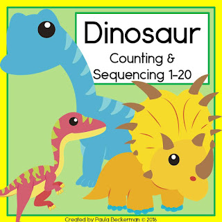 https://www.teacherspayteachers.com/Product/Dinosaur-Counting-and-Sequencing-1-20-2552564