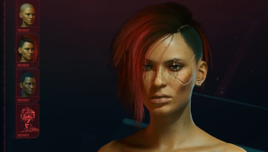 Body type. Can you create a thin or fat character in Cyberpunk 2077?