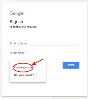 Register a Google account